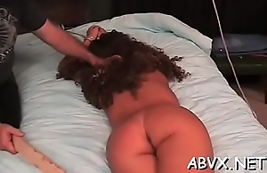 Anomalous bondage video more piece of baggage obeying hammer away dirty play