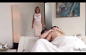 Big Tit Milf Stepmom Fucks Her Son And His Whore To Exchange For Privilege