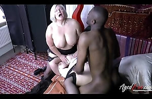 AgedLovE Lacey Starr Interracial Troika