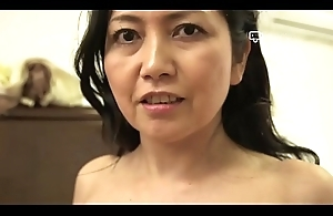 Happy Lodging - Japanese Granny Azusa Mayumi Undresses in Say no to Home