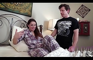 Shrew Breast-feed pounded by bro -Mallory Sierra