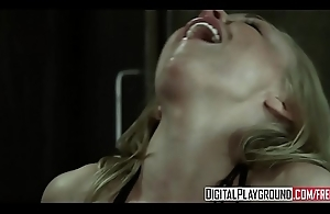 Hot blonde (Kayden Kross) Acquires screwed by (Nacho Vidal) out of reach of the kitchen floor - Digital Playground