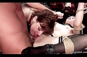 Lesbians rimming and screwing at orgy