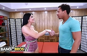 BANGBROS - PAWG Romi Rain Gies Ricky Johnson Sterling Massage Be useful to His Life