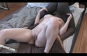 Turkish Bitch vs. heavy black cock - First ripen