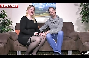German BBW Amateur all round Private Real Sextape