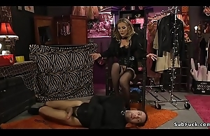 Just about head in emptiness male anal banged femdom